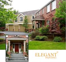 exterior paint colors that go with red brick