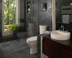 Grey And Black Bathroom Ideas Diy Black Bathroom Ideas With Black Granite Wall Design Elongated