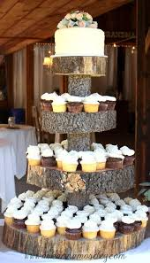 cake stands for wedding cakes wedding cakes tree stump cake stand 2030591 weddbook