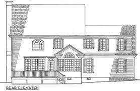 colonial home plans stately colonial home plan 32557wp architectural designs