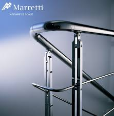Banister Attachment Interior Staircase Banisters In Stainless Steel By Marretti Made