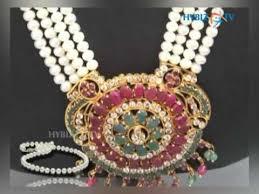 Buy Alankruthi Pearl Necklace Set Alankruthi Tribal Traditional Pearl Jewellery Youtube