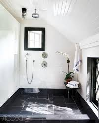 finished bathroom ideas black u0026 white bathroom ideas white black high glossy finished wall