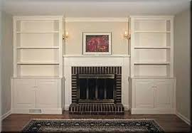 fireplace built in cabinets built ins around fireplace ideas built in bookcases around a shallow