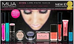 Makeup Mua s bargain makeup academy mua eyeshadows blush etc