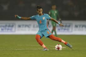 jeakson scores india goal fifa cup history