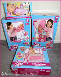 Baby Doll High Chair Set Housewife On A Mission Baby Alive Travel System Play Yard U0026 3 In