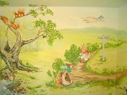 beatrix potter rabbit nursery via www childrensclassics au kids bedroom and nursery