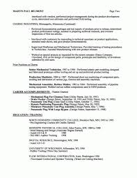 Industrial Engineering Resume Cover Letter Project Engineer Resume Example Example Project