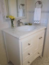 Bathroom Vanities Long Island by Looking Strasser Woodenworks In Bathroom Traditional With Small