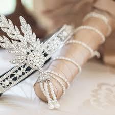 art deco wedding accessories