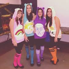 now if only this fun loving care bear fest were to turn into a
