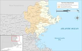 Map Of Northeast Us North Shore Massachusetts Wikipedia