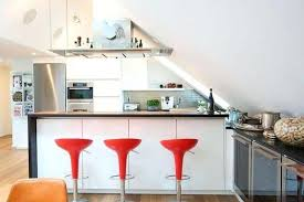 attic kitchen ideas small apartment interior design inspiration functional attic
