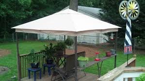 Sonoma Canopy by Kohl U0027s Sonoma Outdoors 2010 Gazebo Replacement Canopy Garden Winds