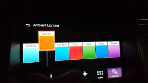 edge lighting change color how to changing interior light colors 2017 ford flex limited