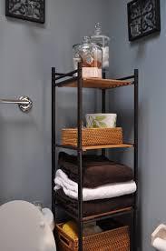 bathroom grey bathroom storage unit with small bathroom wall