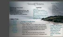 beowulf resume by ashley clark on prezi