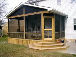 Small Screened Patio Ideas Mobile Home Screened Porch