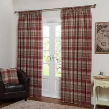 Checkered Curtains by Vintage Check Curtains