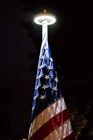 Flag Pole Lights Solar Powered United States Flag Sales Flagpole Sales And Flag Products By Bald