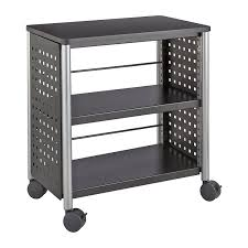 amazon com safco products 1601bl scoot bookcase with 2 shelves