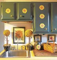 3 piece country sunflowers sunflower kitchen area rug set