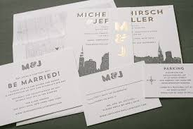 wedding invitations new york press d letterpress wedding invitation ideas from figura