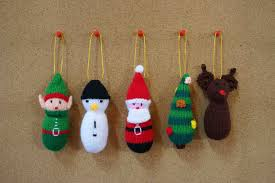 free tree decorations knitting patterns