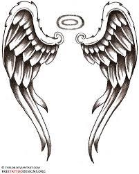 simple wings designsangel tattoos wings