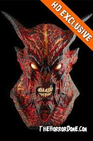 Halloween Mask The Lava Demon Halloween Masks The Horror Dome