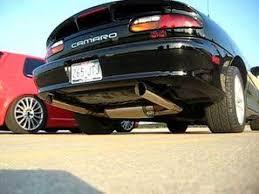 99 camaro exhaust camaro ss magnaflow exhaust