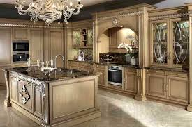 the best design and decoration of luxury style kitchen