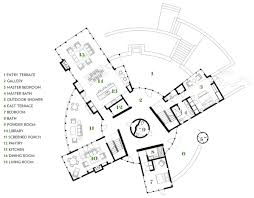 Round Home Floor Plans by Life In The Round A House With A Circular Center Boston Magazine