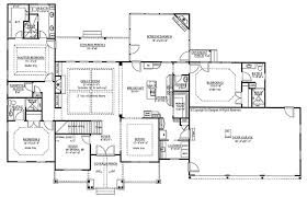 craftsman floor plan floor plans craftsman ranch one house home designs small style
