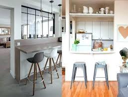 cuisine en l ouverte sur salon cuisine semi ouverte sur salon cuisine americaine avec bar cuisine