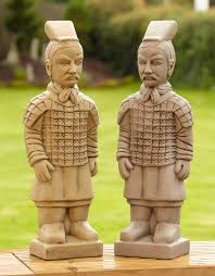 terracotta warriors statue garden ornament s s shop