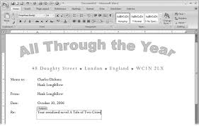 section 20 2 designing document templates word 2007 c the