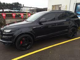 Audi Q7 Modified - audi q7 blacked out joe u0027s stereo