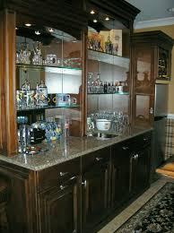 Bar At Home Dvoraks Creations Custom Cabinetry