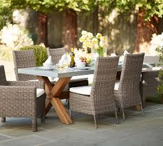 Pottery Barn Patio Table Pottery Barn Deck Furniture Outdoor Table Reviews With Regard To