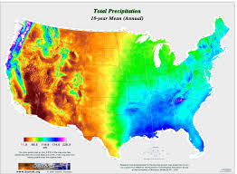 North America Precipitation Map by U S Precipitation Map 3000 X 2200 Mapporn