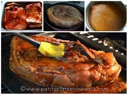 rouelle de porc laquée petits plats entre amis