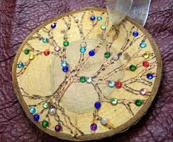 2015 diy ornaments ideas family tree christmas ornament