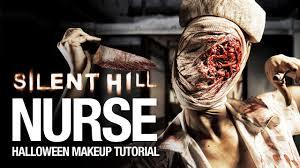 silent hill nurse halloween makeup tutorial youtube