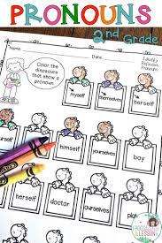 second grade pronouns common core standards core standards and