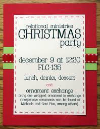 delectable christmas party invitation wording gift exchange