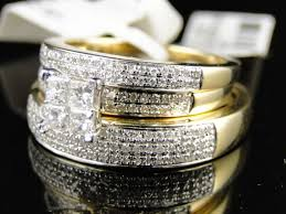 wedding rings trio sets for cheap getting the best of wedding ring trio sets