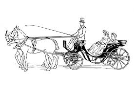 horse and carriage clipart free clipartxtras