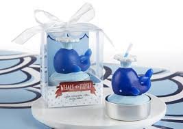 amazon com kate aspen set of 4 nautical whale candle baby